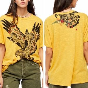 We The Free Soak Up The Sun Eagle Embroidered Tee
